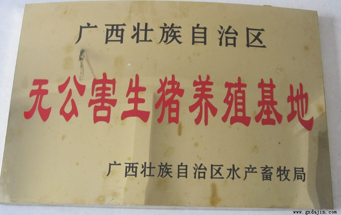 广西无公害生猪养殖基地